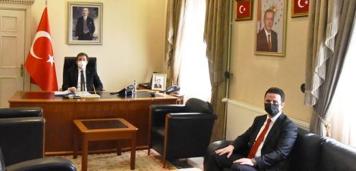 Muğla İl Milli Eğitim Müdürü Emre Çay'dan Vali Orhan Tavlı'ya Ziyaret