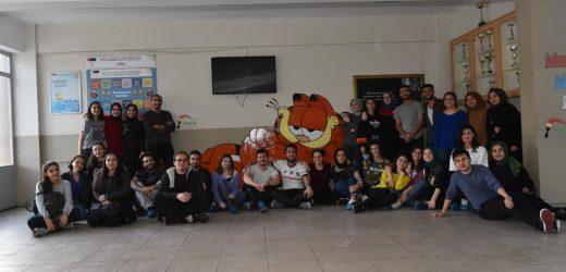 Avcılar Belediyesi Çizgi Film Dünyasını Okul Duvarlarına Taşıdı