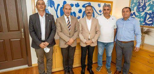 CHP'li Bozdemir, Başkan Soyer'i Ziyaret Etti