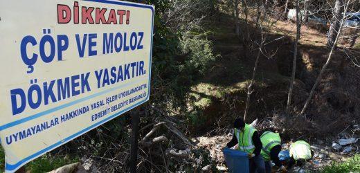 Belediye vatandaş elele daha temiz Edremit'e