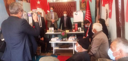 CHP Yıllar Sonra Digor'da coşkuyla karşılandı