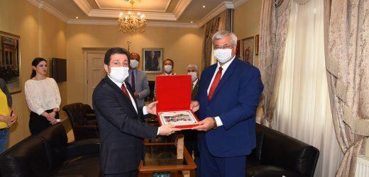 Ukrayna'nın Ankara Büyükelçisi Andrii Sybiha'nın Muğla Ziyareti