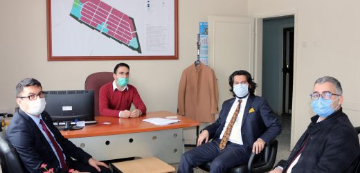 Taşdemir, Ağrı OSB Müdürlüğü ile Sanayi ve Teknoloji İl Müdürlüğünü ziyaret etti