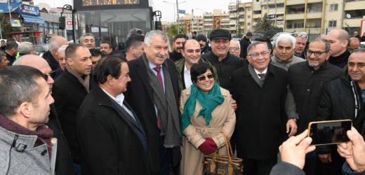 Başkan Karalar'ın halkla buluşması devam ediyor…